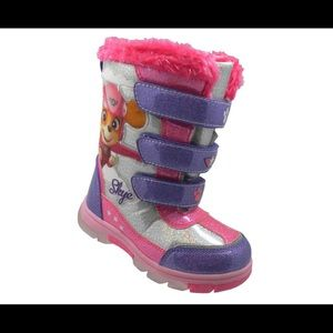 Paw Patrol Skye Lighted Winter Boots